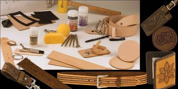 Tandy Lederhandwerk Set Deluxe