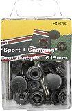 Druckknopf-Sortiment Camping