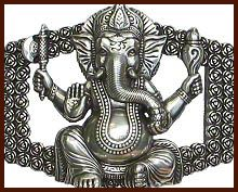 Ganesha-Schnalle