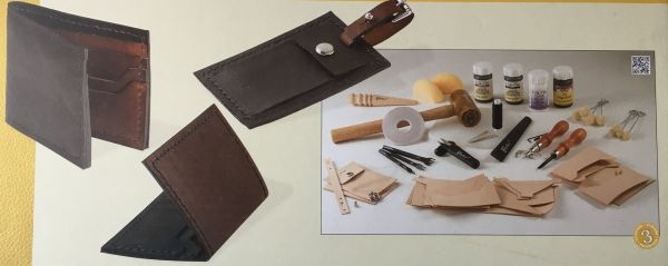 Tandy Lederhandwerk Set Deluxe 2