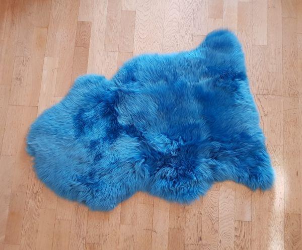 Schaffell Öko Ozean Blau
