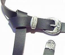 Kilttaschengürtel mit Spitze