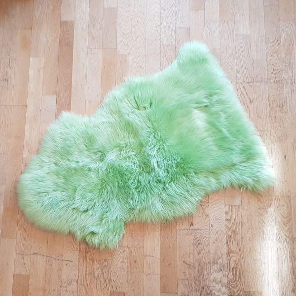 Schaffell Öko Frühlingsgrün