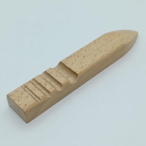 Kantenpolierer 4-fach aus Buchenholz