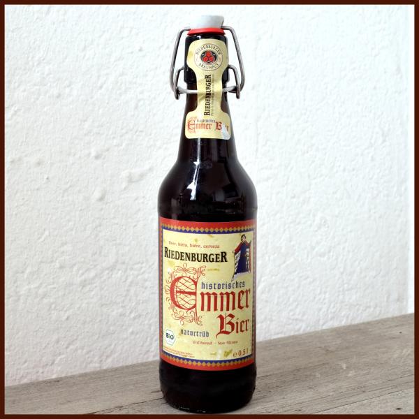 Historisches Emmer Bier naturtrüb