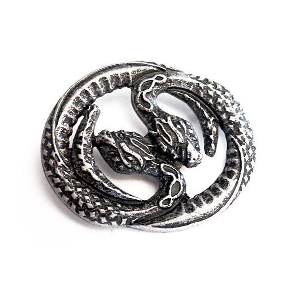 Hekates Schlangen altsilber