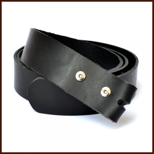Ledergürtel ohne Schnalle, 38 mm breit