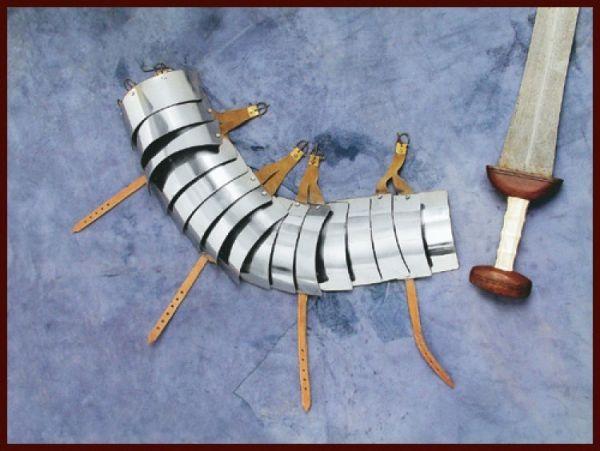 Lorica Segmentata - Armschutz