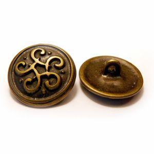 Keltischer Knoten Mini Altmessing
