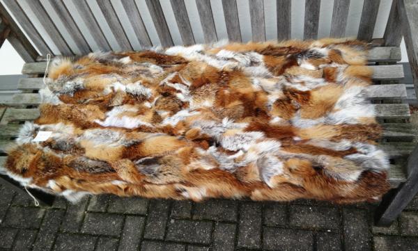 Fuchsfelldecke Rotfuchs