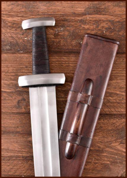 Wikinger Hurum Schwert mit Scheide